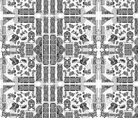 Celtic  Animals fabric by ciswee on Spoonflower - custom fabric