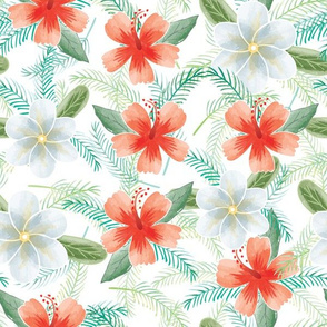 Hawaiian flowers 01