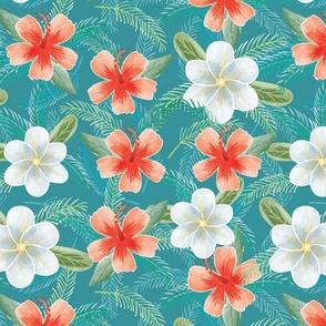 Hawaiian flowers 02