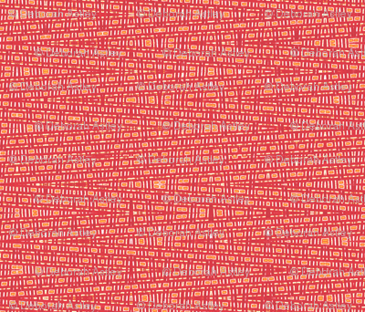 Reds and Oranges Distorted