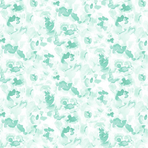Abstract Flora Soft Green Small Scale