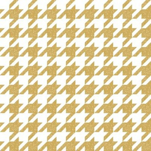 The Houndstooth Check ~ Neutral Honey Gilt Patina ~ Small