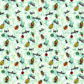 Hello, Goodbye Beetles Small Scale