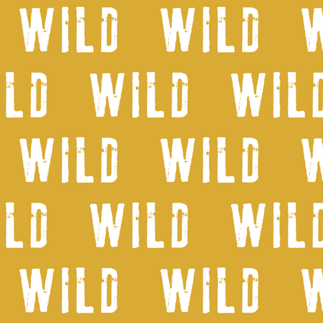 wild (crown coordinate) fabric by littlearrowdesign on Spoonflower - custom fabric