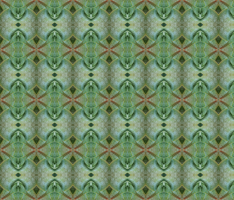 succulence 32 fabric by hypersphere on Spoonflower - custom fabric