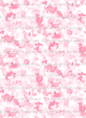 Abstract Flora Soft Pink Large Scale