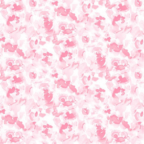 Abstract Flora Soft Pink Small Scale