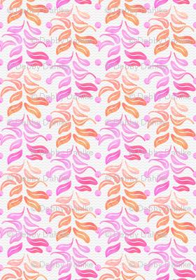 Pink Leaf Columns