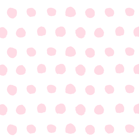 Pale Pink Watercolor Polka Dots  fabric by brainsarepretty on Spoonflower - custom fabric