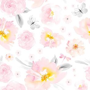 """18"""" Blushing Blooms"""