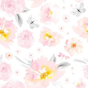 """10"""" Blushing Blooms"""