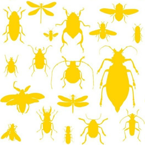 "10"" Bugs Collection - Bright Summer Yellow"