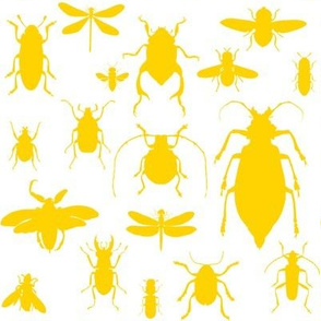 "8"" Bugs Collection - Bright Summer Yellow"