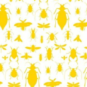 "4"" Bugs Collection - Bright Summer Yellow"