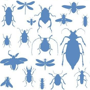 "7"" Bugs Collection - Summer Blue"