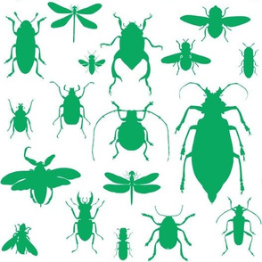 "10"" Bugs Collection - Summer Green"