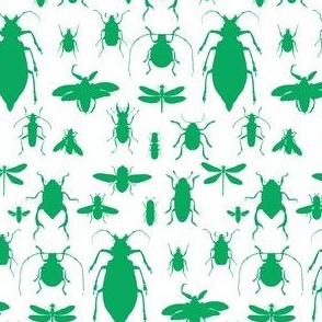 "4"" Bugs Collection - Summer Green"