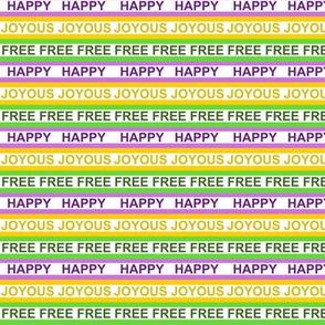 Mardi Gras Happy Joyous Free