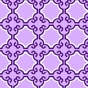 Light Purple Cross