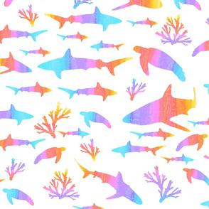 creatures of the rainbow ocean