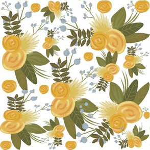 Yellow Floral Wonder - Yellow flowers