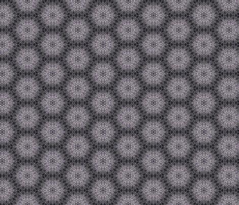 Abba black &white fabric by ginger&cardamôme on Spoonflower - custom fabric