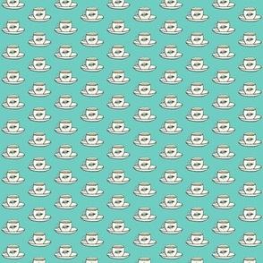 coffee tea or filigree -mini tea cups
