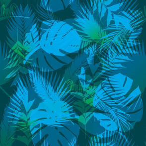 Blue-Palm-Leaves
