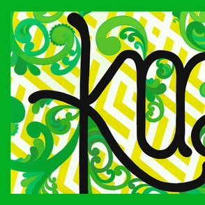 Kai/Eat Teatowel - Green