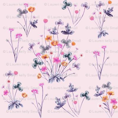Meadow Wildflowers 04B PalestRose