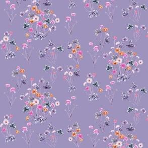 Meadow Wildflower 04E Purple