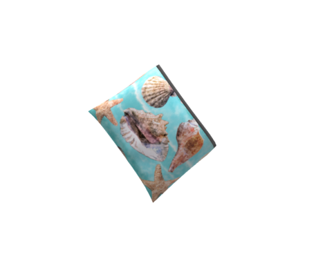 Sea Shells Ocean Blue Watercolor