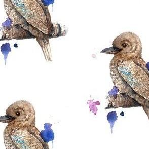 Watercolour Kookaburra