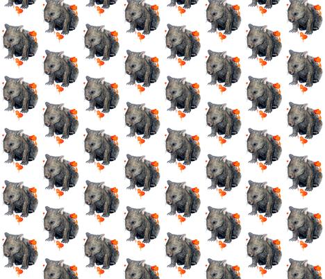 Wombat fabric by archandya on Spoonflower - custom fabric