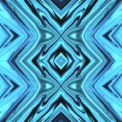PIllars of Blue - Vertical Geometric Stripes in Blue - LW