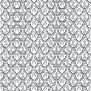 ombre mermaid scales // pantone 174-15 // small