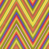 Rainbow Tie Dye Chevron Stripe 6