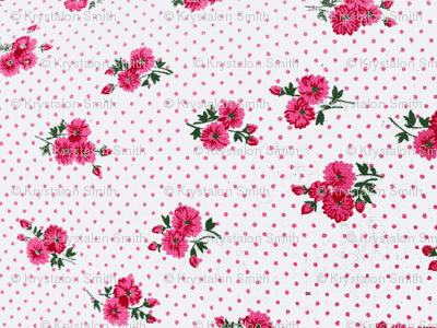 Pretty Pink Pansies