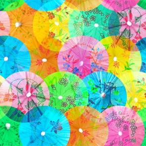 Colorful Drink Umbrellas