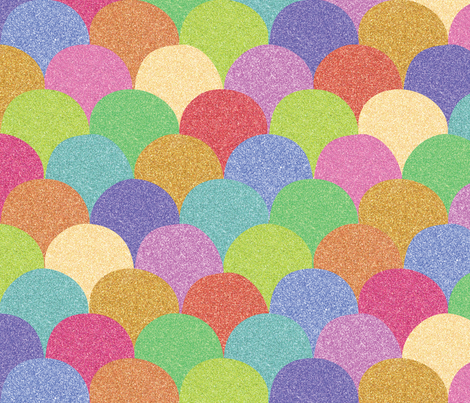 Land of Sparkles fabric by ceciliamok on Spoonflower - custom fabric