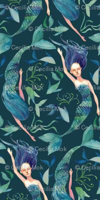 Mermaid Swim {Sea Blue}