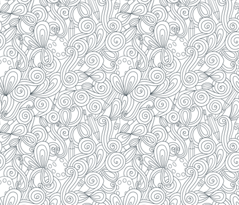 paint pattern 2 fabric by kostolom3000 on Spoonflower - custom fabric