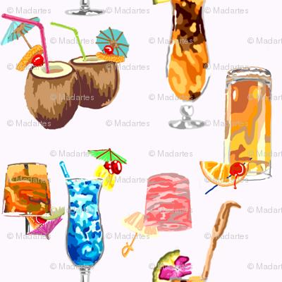 Hawaiian Happy Hour!