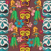 Mid century modern tiki hula