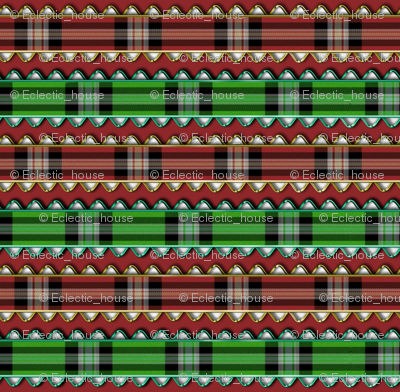 Rred_and_green_plaid_ribbon_edged_in_fake_metallic_rick_rack_on_red_preview