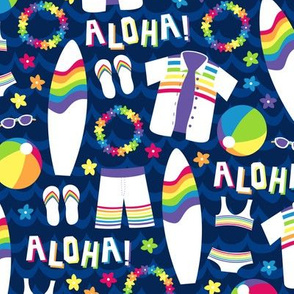 Rainbow Aloha