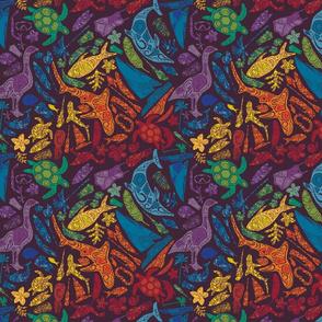 Aloha Rainbow Mosaic