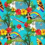 Rr_tk-all_original_art_teal-hawaii_rainbow-wk_one-150dpi_shop_thumb