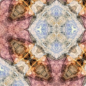 Seashells Kaleidoscope Abstract