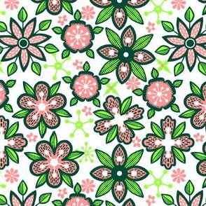 Graphical Florals 5